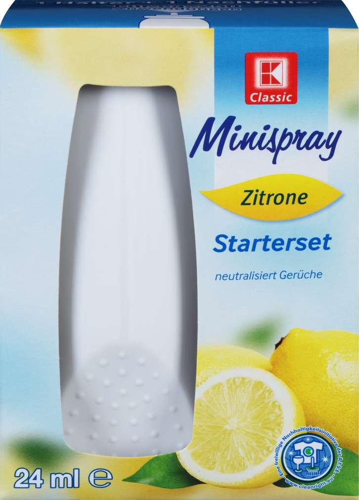 Abbildung des Sortimentsartikels K-Classic Minispray Lemon Original 1x24ml