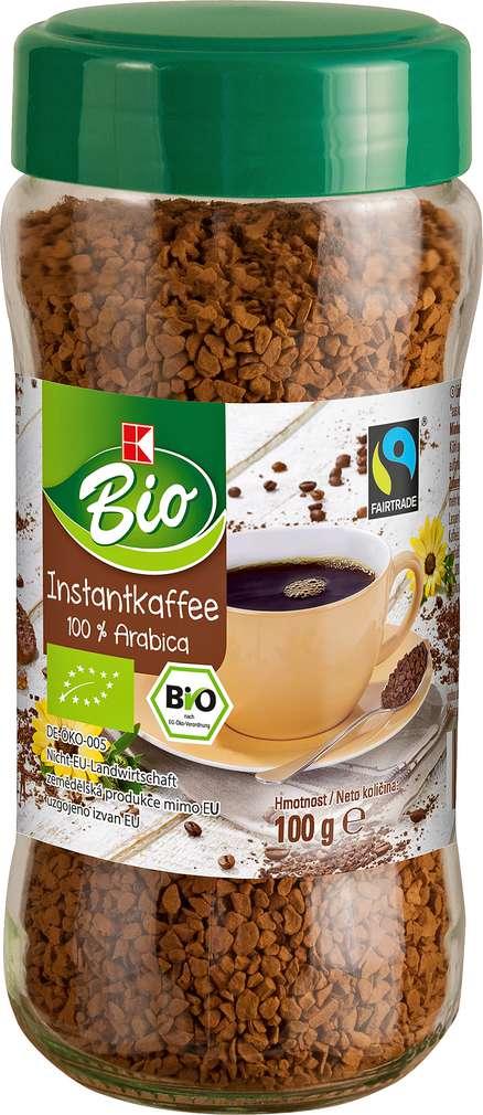 Abbildung des Sortimentsartikels K-Bio Instantkaffee 100g