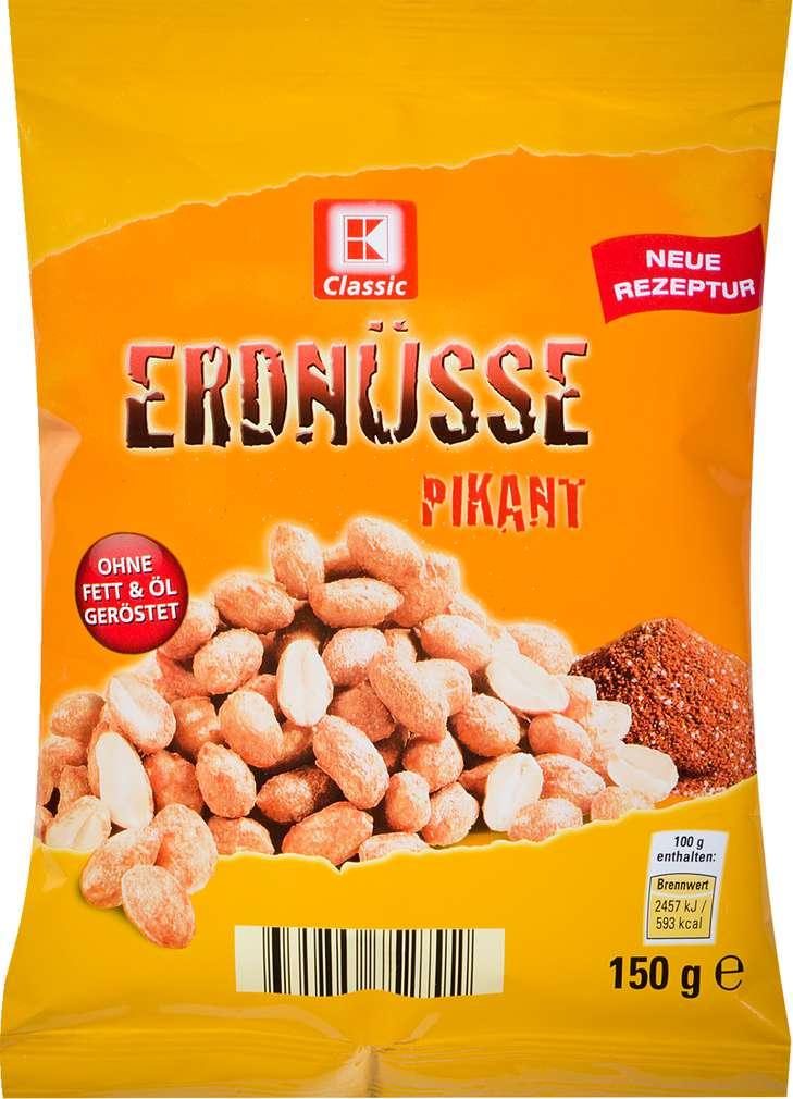 Abbildung des Sortimentsartikels K-Classic Erdnüsse Pikant 150g