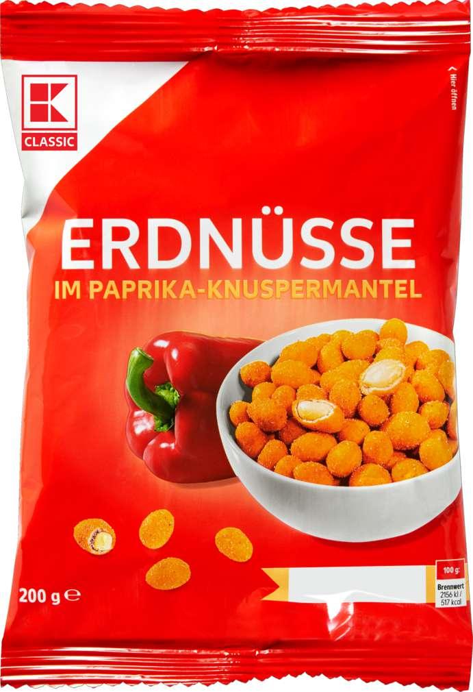 Abbildung des Sortimentsartikels K-Classic Erdnüsse im Teigmantel Paprika 200g