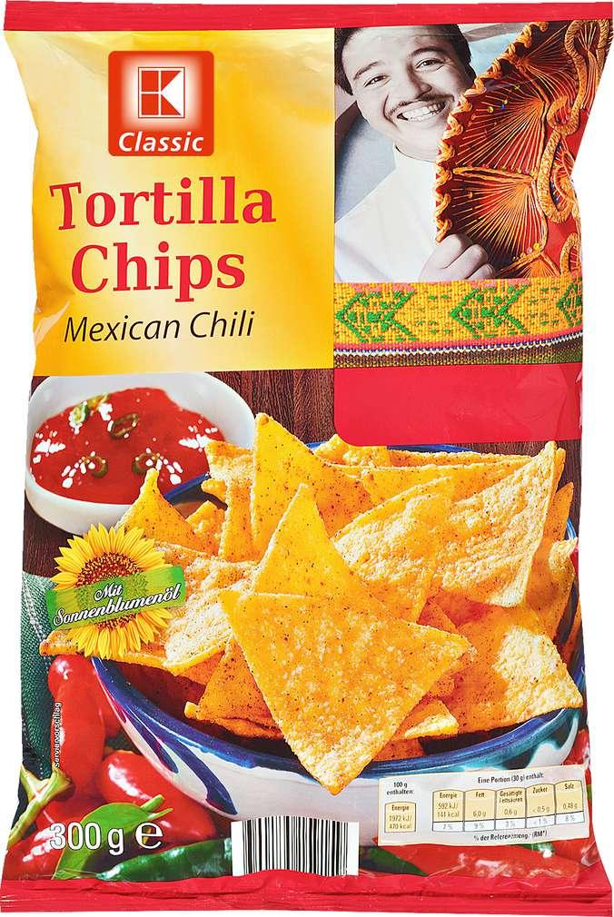 Abbildung des Sortimentsartikels K-Classic Tortilla Chips Mexican Chili 300g