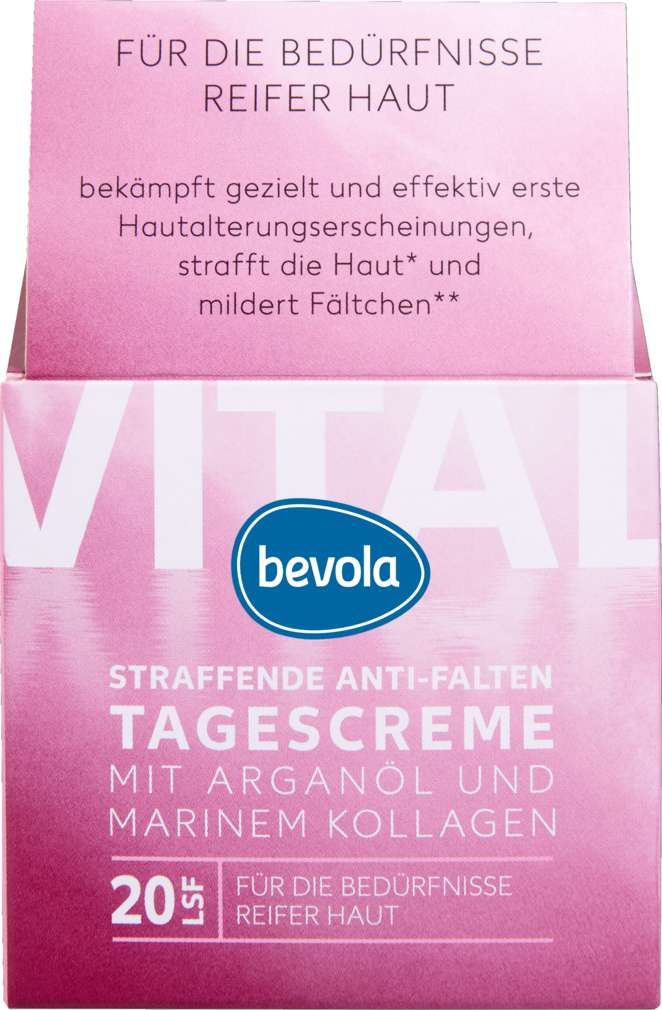 Abbildung des Sortimentsartikels Bevola regenerierende Tagescreme Vital 50ml