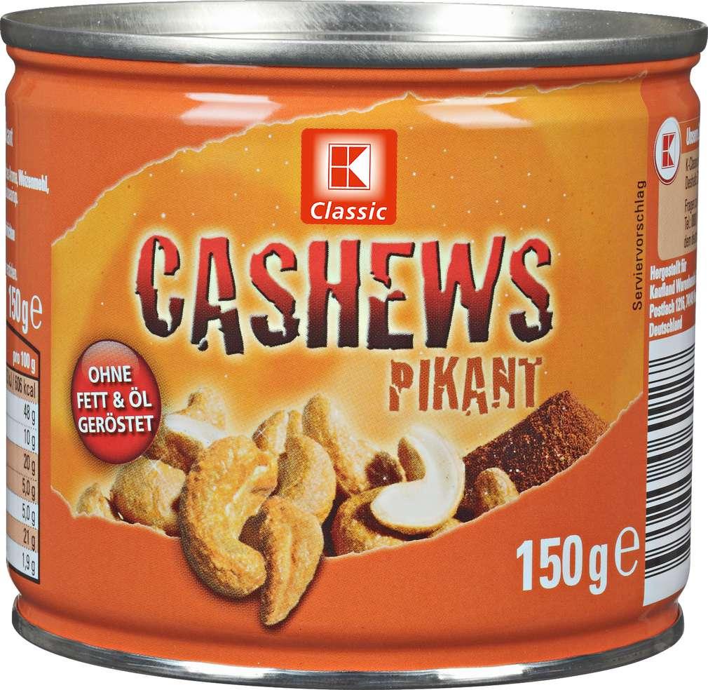 Abbildung des Sortimentsartikels K-Classic Cashews Pikant 150g