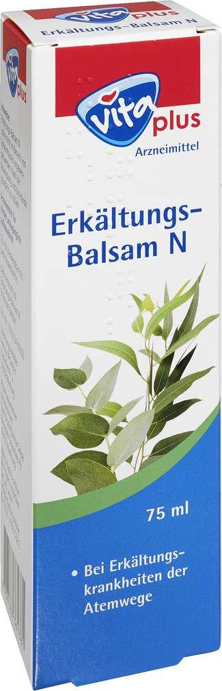 Abbildung des Sortimentsartikels Vita plus Erkältungs-Balsam 75ml