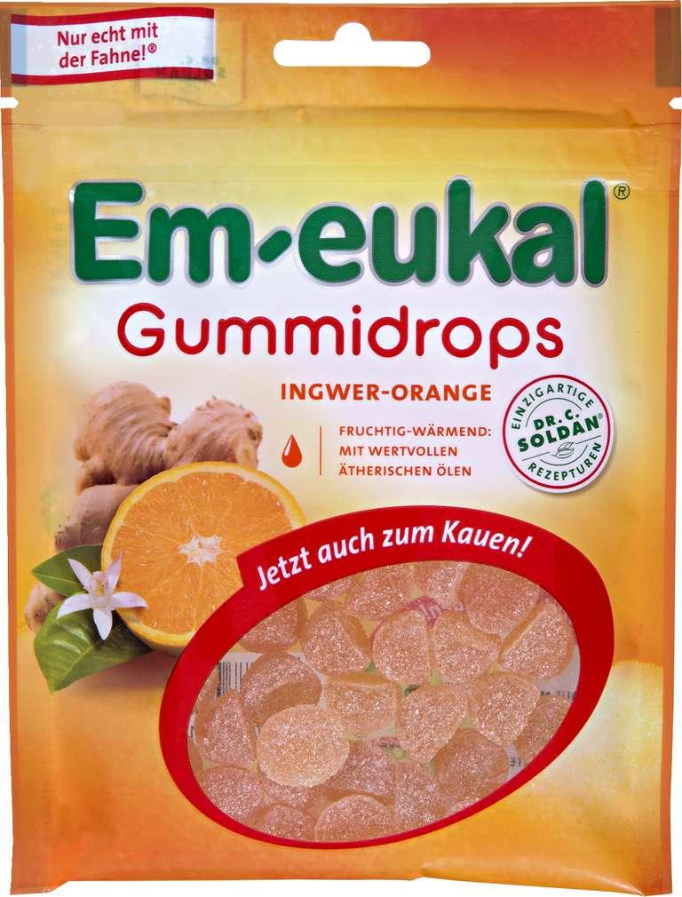 Abbildung des Sortimentsartikels Em-eukal Gummidrops Ingwer-Orange