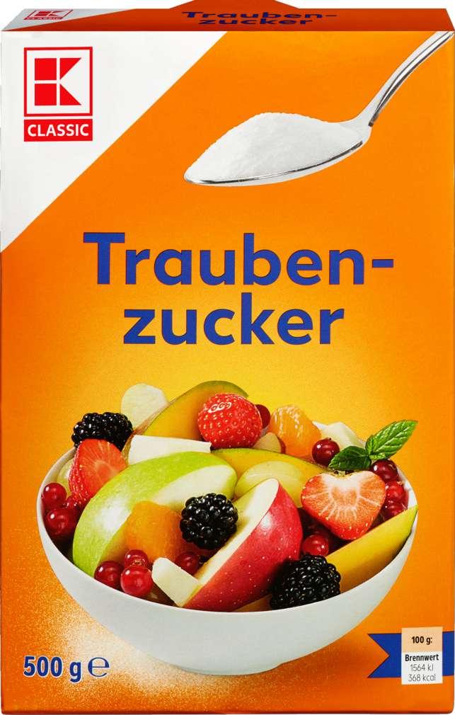 Abbildung des Sortimentsartikels K-Classic Traubenzucker 500g