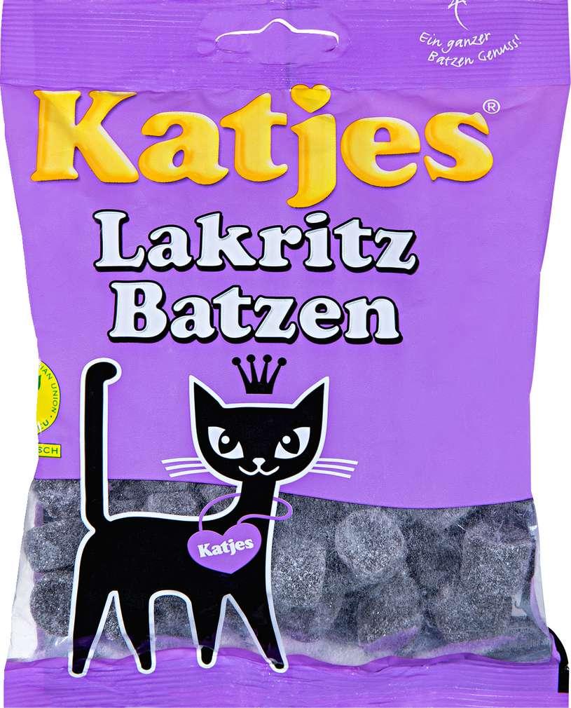 Abbildung des Sortimentsartikels Katjes Lakritz Batzen 200g