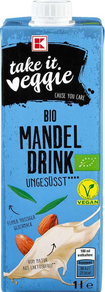 Abbildung des Sortimentsartikels K-Take it Veggie Mandeldrink ungesüßt 1,0l