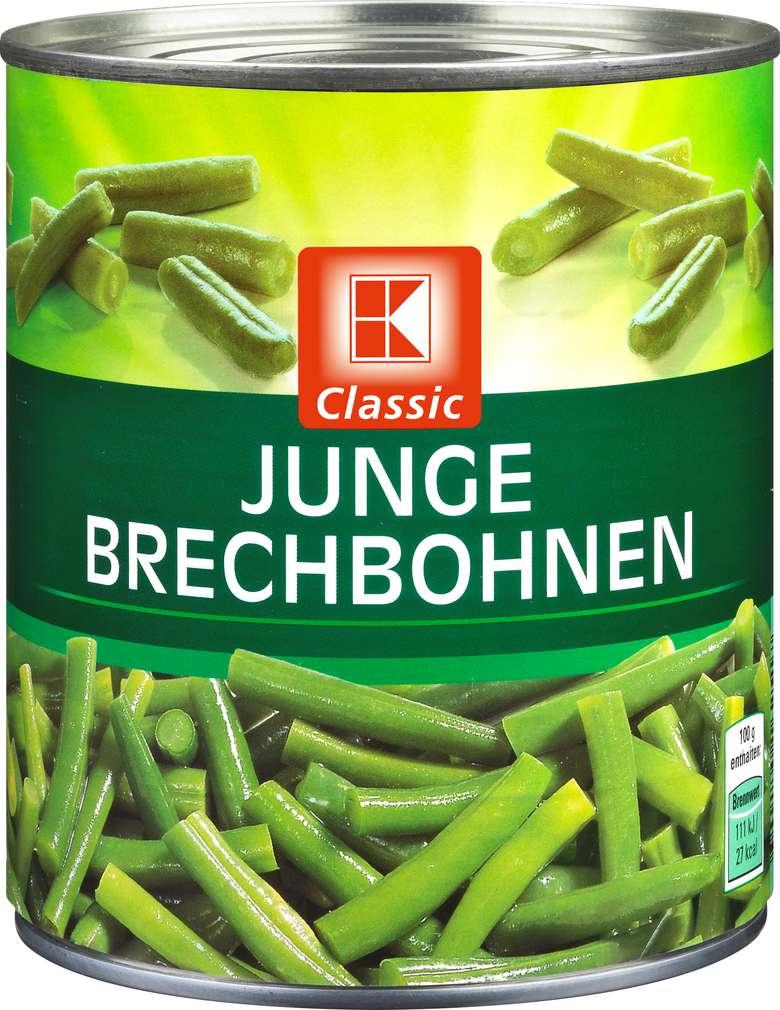 Abbildung des Sortimentsartikels K-Classic Junge Brechbohnen 850ml