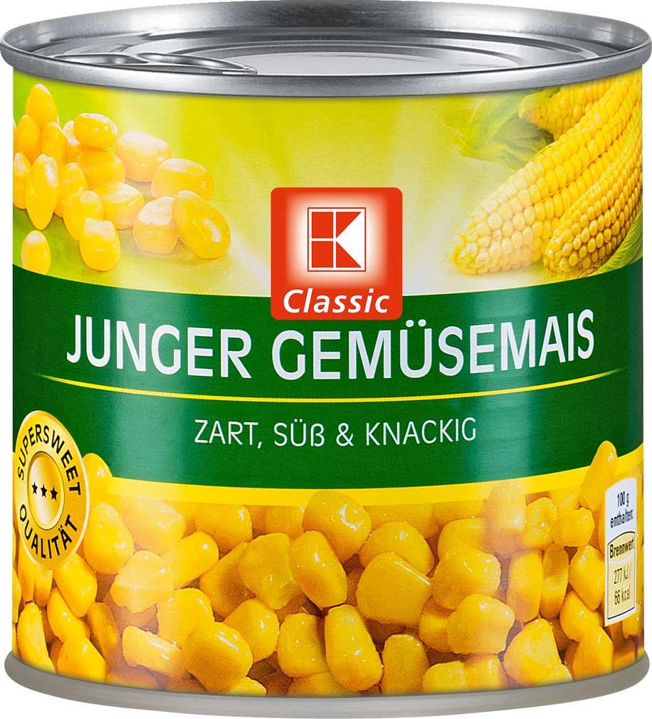 Abbildung des Sortimentsartikels K-Classic Junger Gemüsemais 425ml