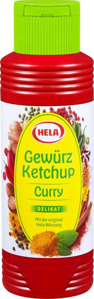 Abbildung des Sortimentsartikels Hela Curry-Gewürz-Ketchup delikat 300ml