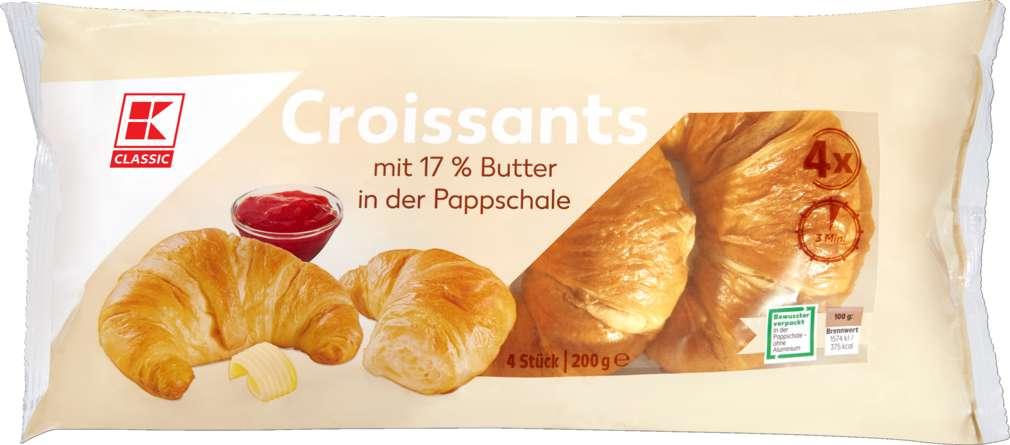 Abbildung des Sortimentsartikels K-Classic Croissants 200g