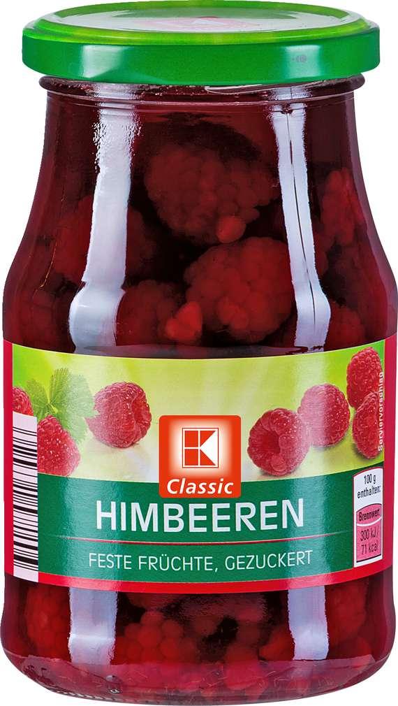 Abbildung des Sortimentsartikels K-Classic Himbeeren 425ml