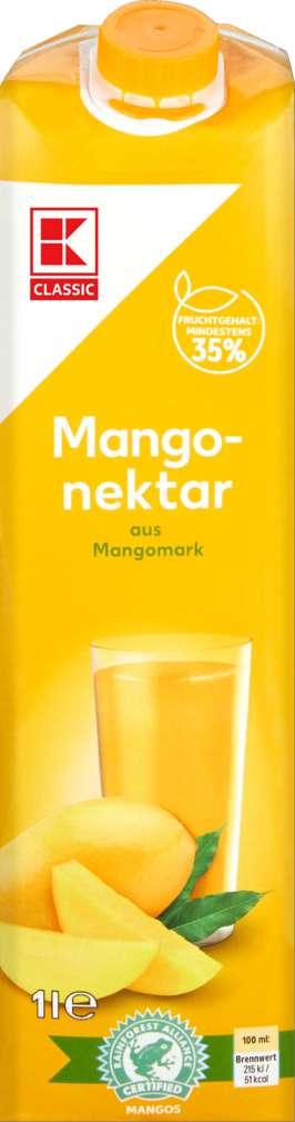 Abbildung des Sortimentsartikels K-Classic Mango Nektar 1,0l