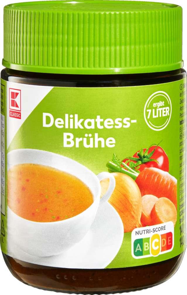 Abbildung des Sortimentsartikels K-Classic Delikatess-Brühe klar 140g