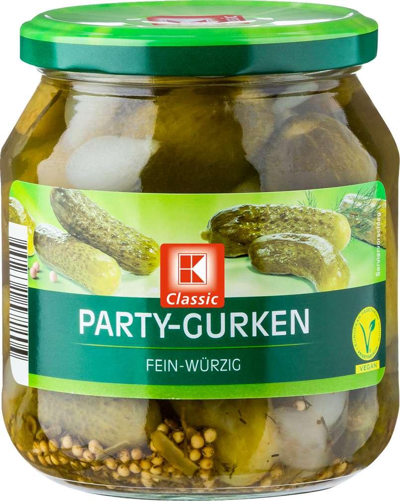 Abbildung des Sortimentsartikels K-Classic Party-Gurken 580ml
