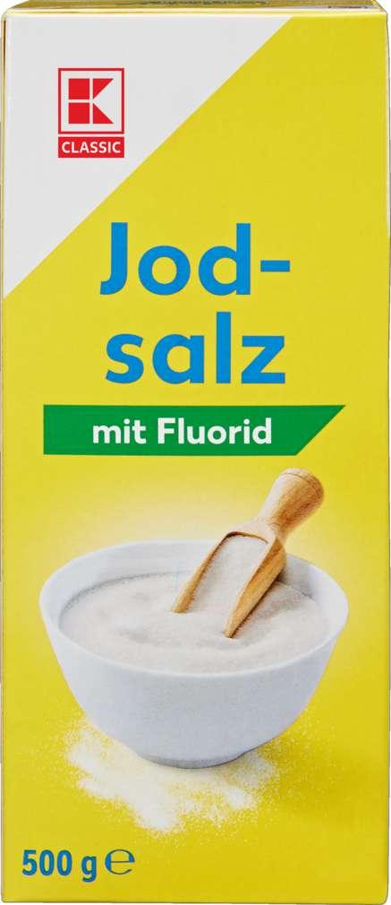 Abbildung des Sortimentsartikels K-Classic Jodsalz mit Fluorid 500g