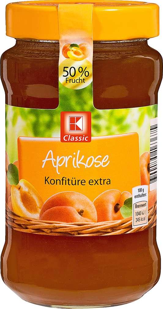 Abbildung des Sortimentsartikels K-Classic Aprikose Konfitüre extra 450g