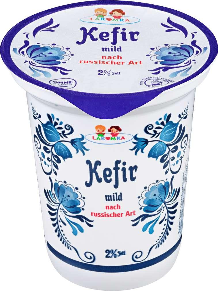 Abbildung des Sortimentsartikels Lakomka Kefir mild nach russischer Art 2% 330g