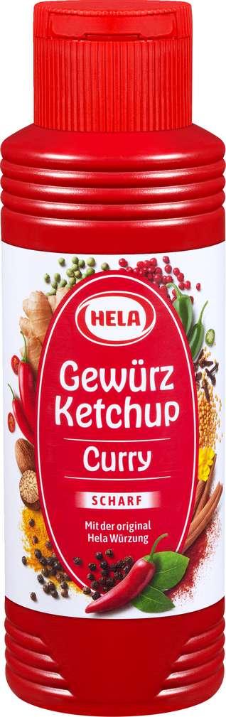 Abbildung des Sortimentsartikels Hela Curry-Gewürz-Ketchup scharf 300ml