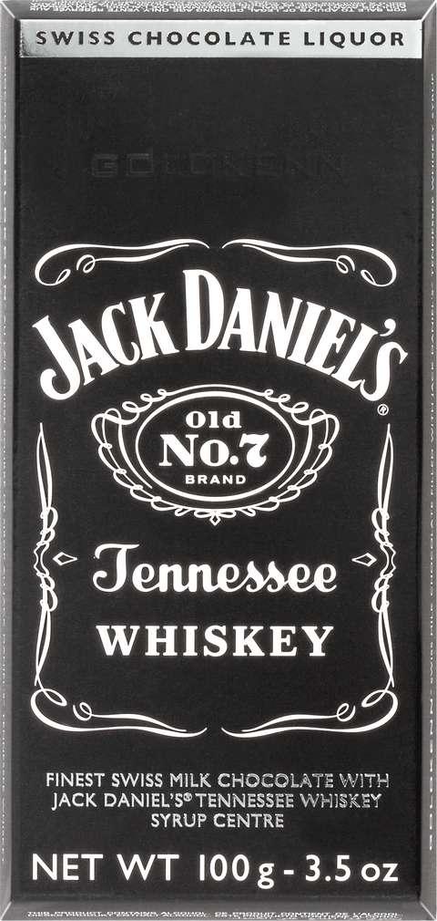 Abbildung des Sortimentsartikels Choco Gourmet Jack Daniels Bar 100g