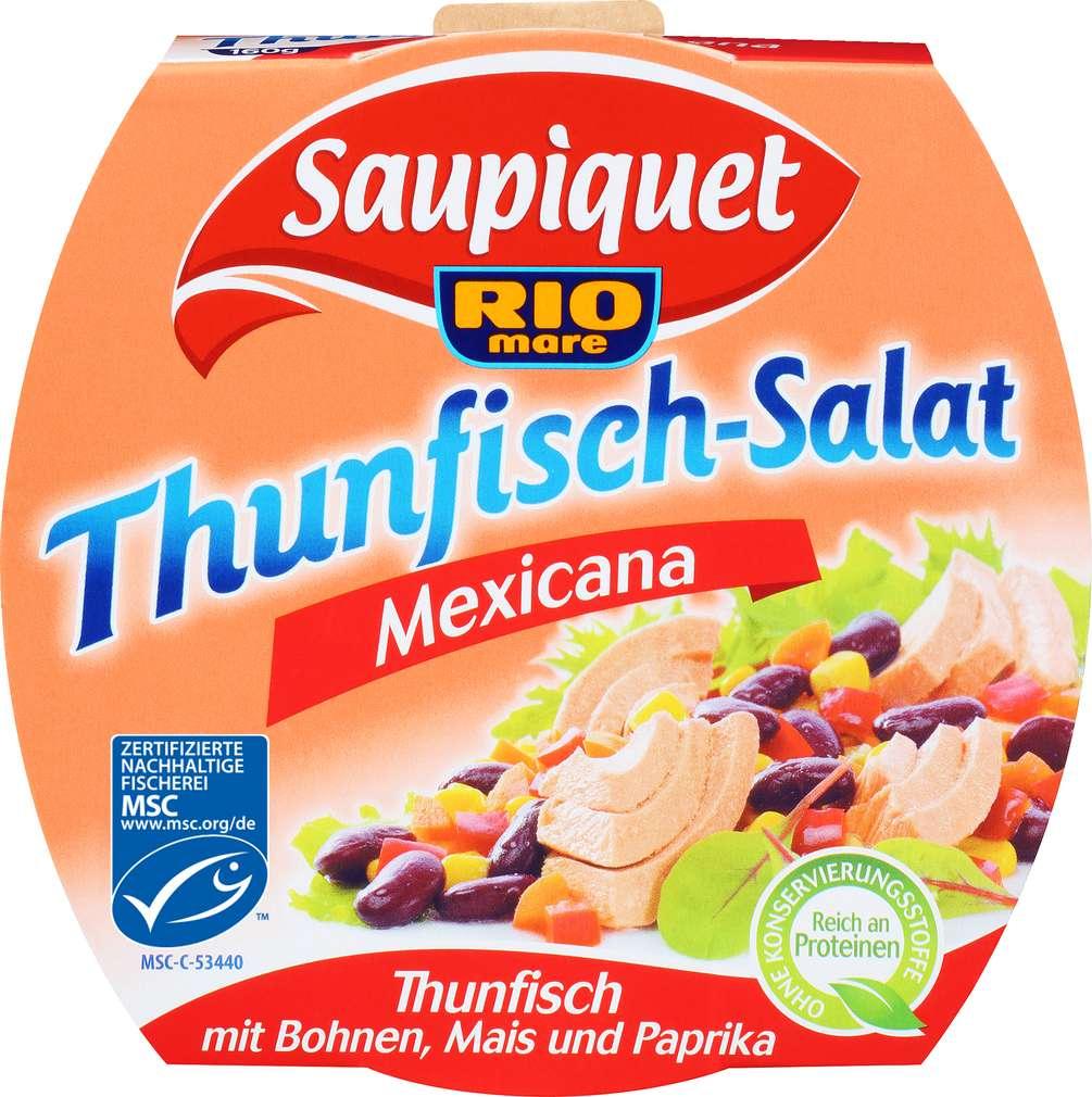Abbildung des Sortimentsartikels Saupiquet MSC Thunfisch Salat Mexicana 160g