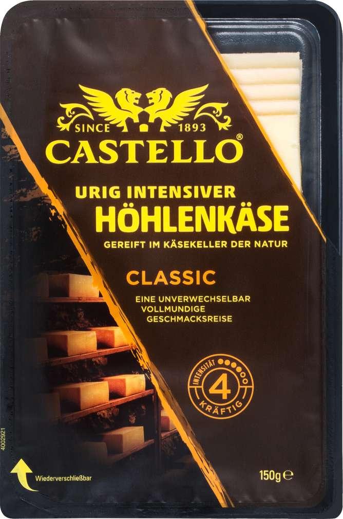 Abbildung des Sortimentsartikels Castello Höhlenkäse classic 150g