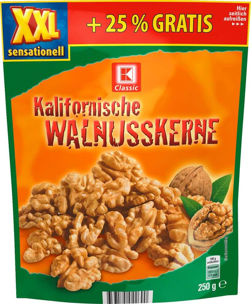Abbildung des Sortimentsartikels K-Classic XXL Walnusskerne 250g