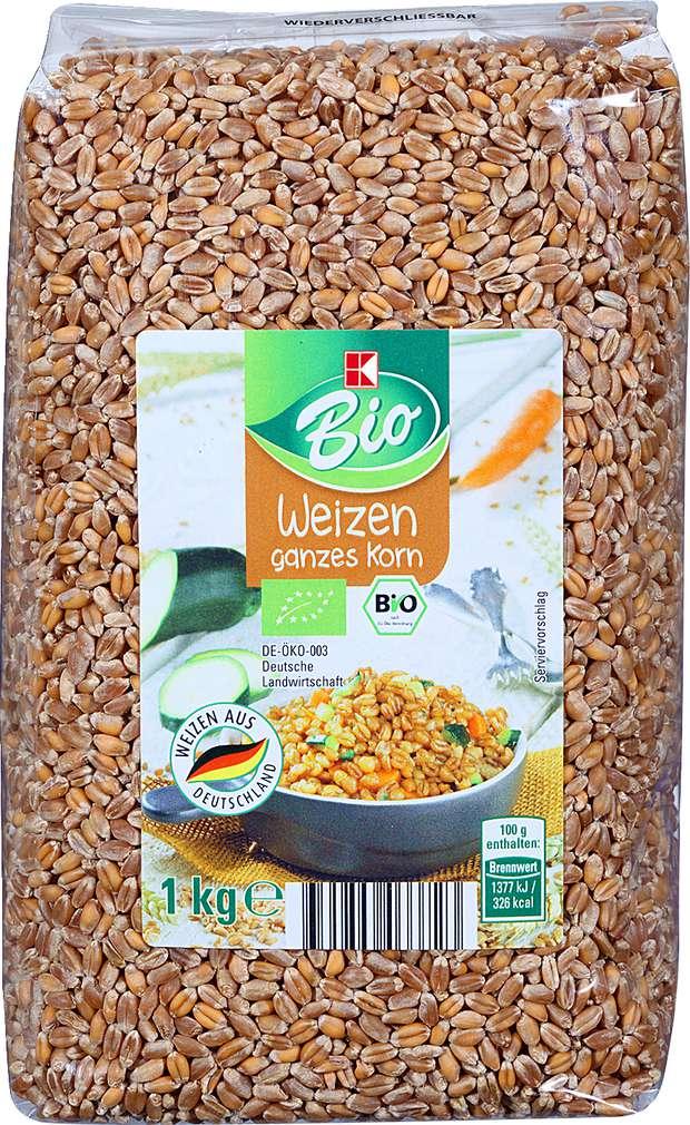 Abbildung des Sortimentsartikels K-Bio Weizen 1kg