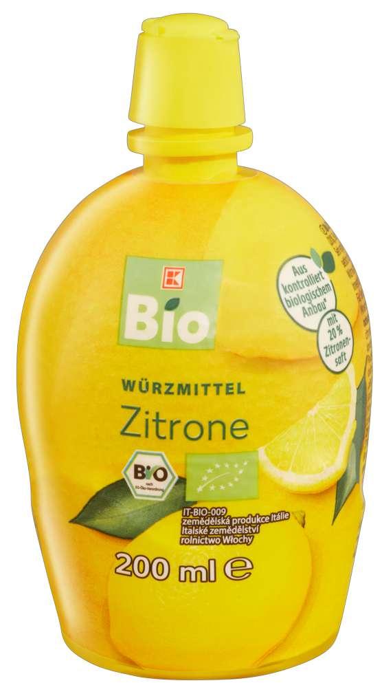 Abbildung des Sortimentsartikels K-Bio Säuerungsmittel Zitrone 200ml