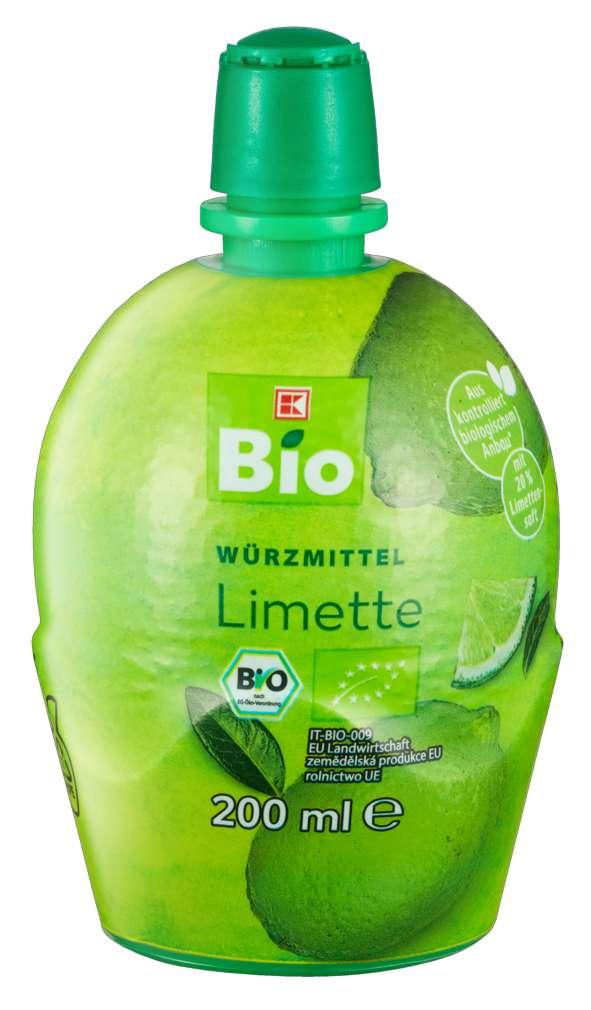 Abbildung des Sortimentsartikels K-Bio Säuerungsmittel Limette 200ml