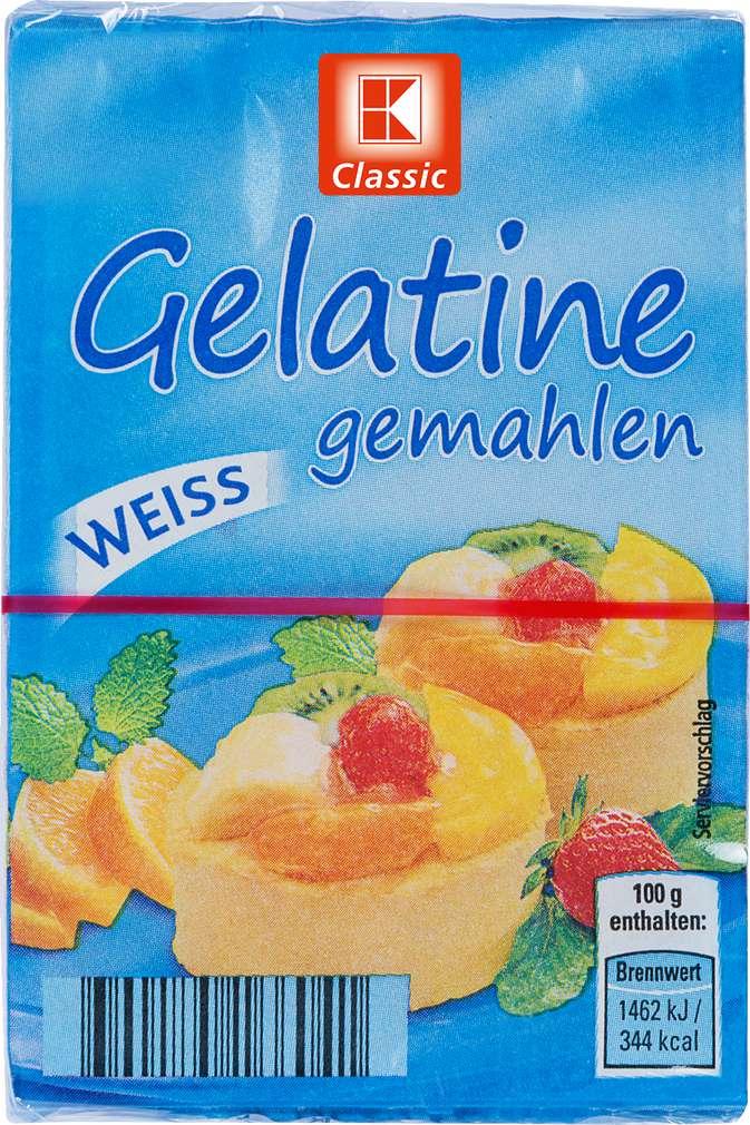 Abbildung des Sortimentsartikels K-Classic Gelantine gemahlen weiss 3x9g