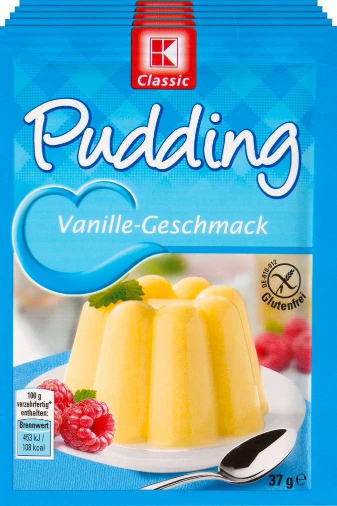 Abbildung des Sortimentsartikels K-Classic Puddingpulver Vanille 5x37g