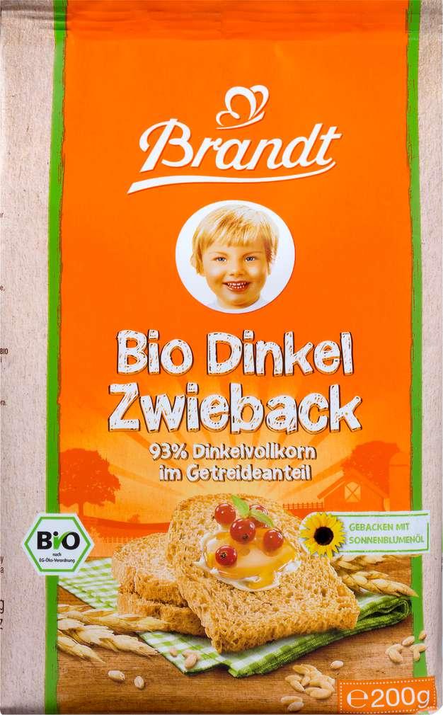 Abbildung des Sortimentsartikels Brandt Bio-Zwieback Dinkel 200g