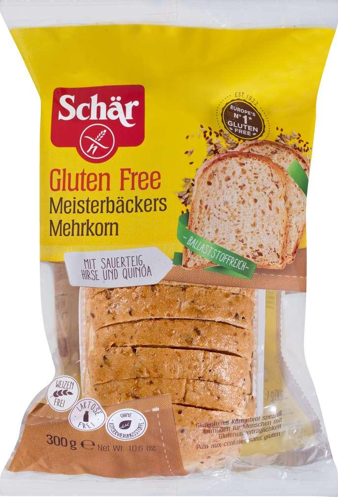 Abbildung des Sortimentsartikels Schär Meisterbäckers Mehrkorn gf 300g