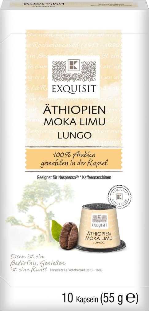 Abbildung des Sortimentsartikels Exquisit Kaffee Kapseln Äthiopien Sidamo 55g