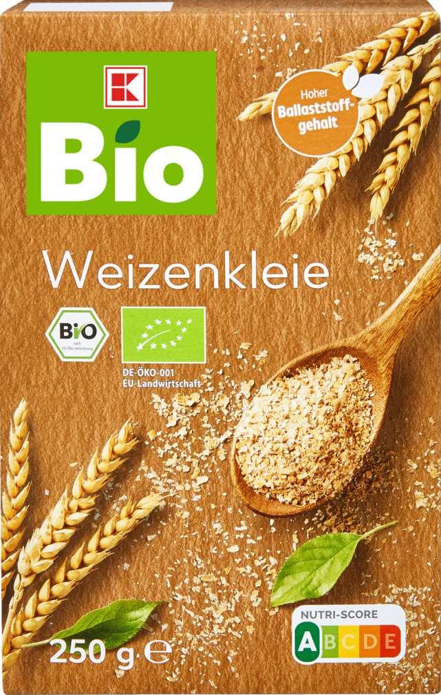 Abbildung des Sortimentsartikels K-Bio Weizenkleie 250g