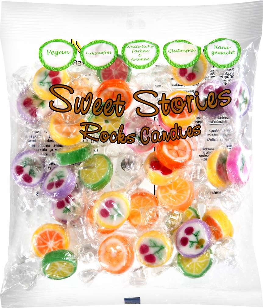 Abbildung des Sortimentsartikels Rocks Candies Sweet Stories 150g