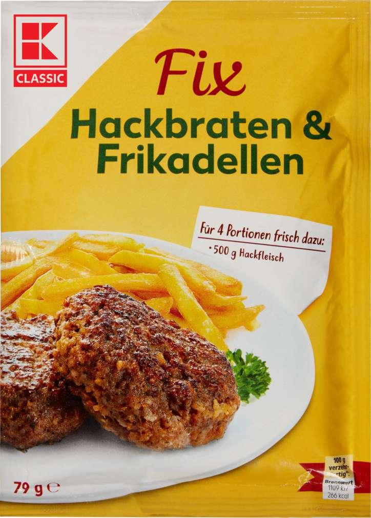 Abbildung des Sortimentsartikels K-Classic Fix für Hackfleisch 79g