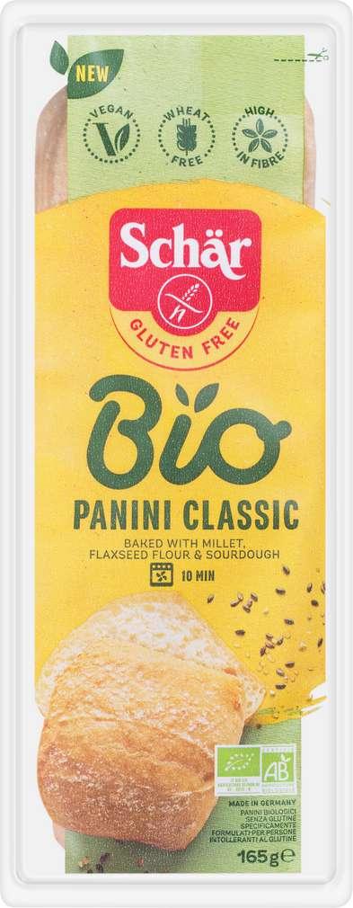 Abbildung des Sortimentsartikels Schär Bio Panini Classic gf 165g