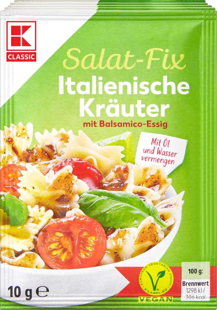 Abbildung des Sortimentsartikels K-Classic Fix für Salatsauce Italienische Kräuter 5x10g