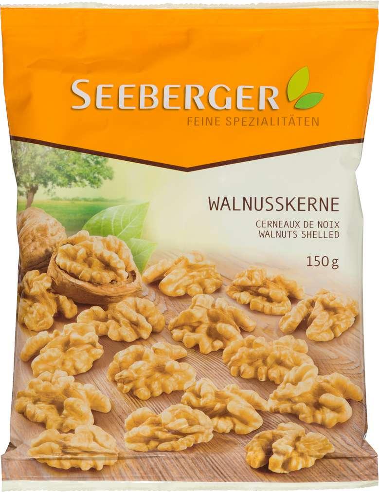 Abbildung des Sortimentsartikels Seeberger Walnusskerne 150g