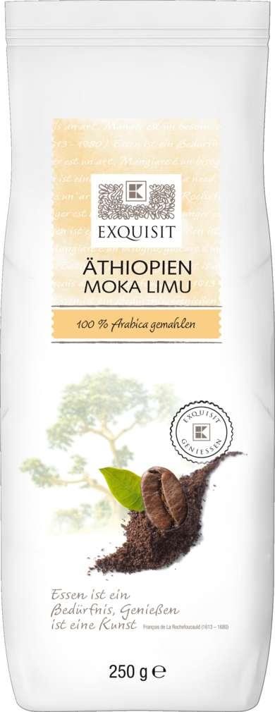 Abbildung des Sortimentsartikels Exquisit Kaffee gemahlen Äthiopien Moka Limu 250g