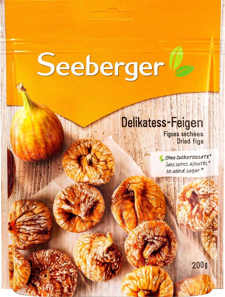 Abbildung des Sortimentsartikels Seeberger Delikatess-Feigen 200g