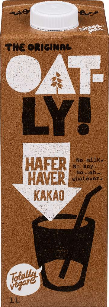 Abbildung des Sortimentsartikels Oatly Hafer Kakao laktosefrei 1,0l