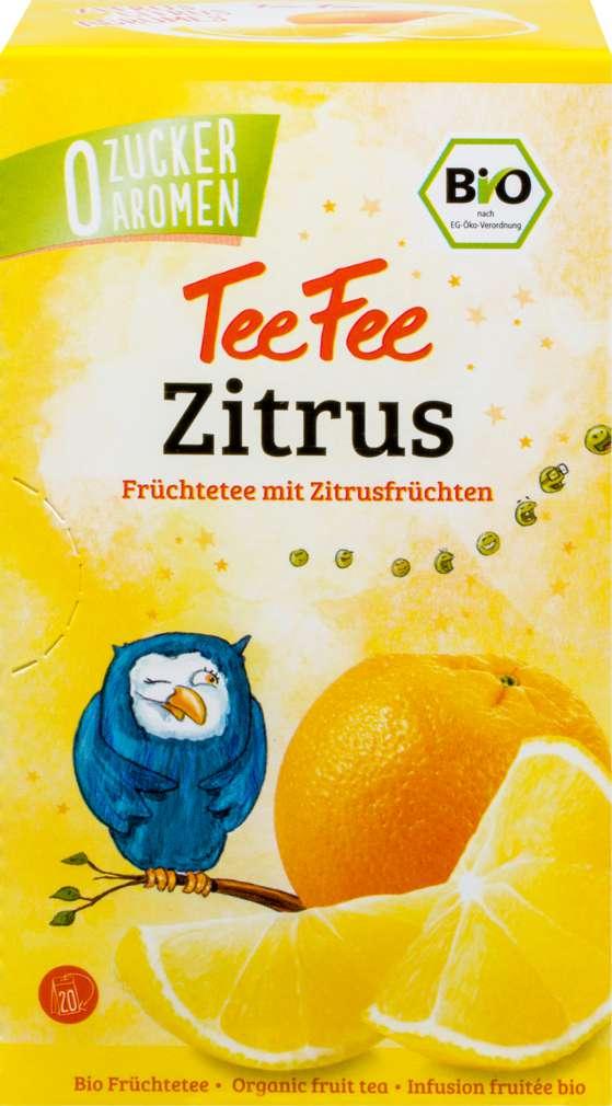 Abbildung des Sortimentsartikels TeeFee Bio Früchtetee Zitrus 20x1,5g