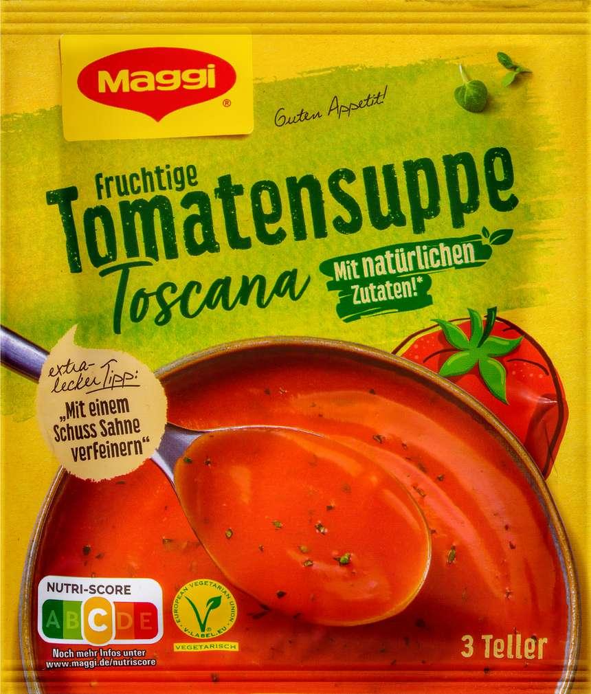 Abbildung des Sortimentsartikels Maggi Guten Appetit Suppe Tomate Toscana ergibt 750ml