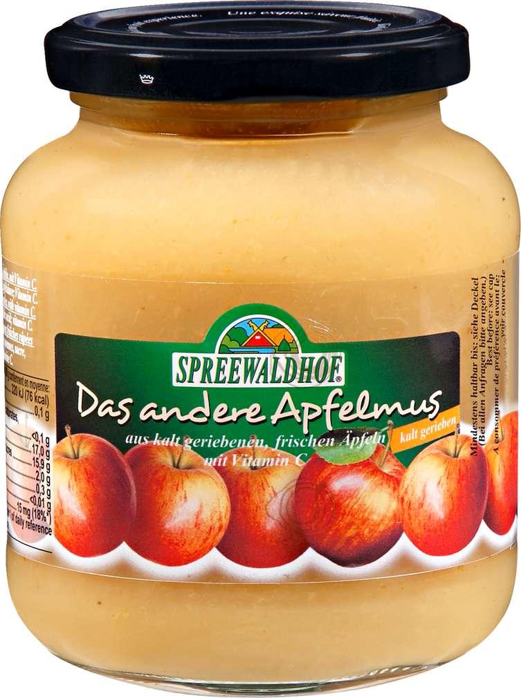 Abbildung des Sortimentsartikels Spreewaldhof Das andere Apfelmus 350g