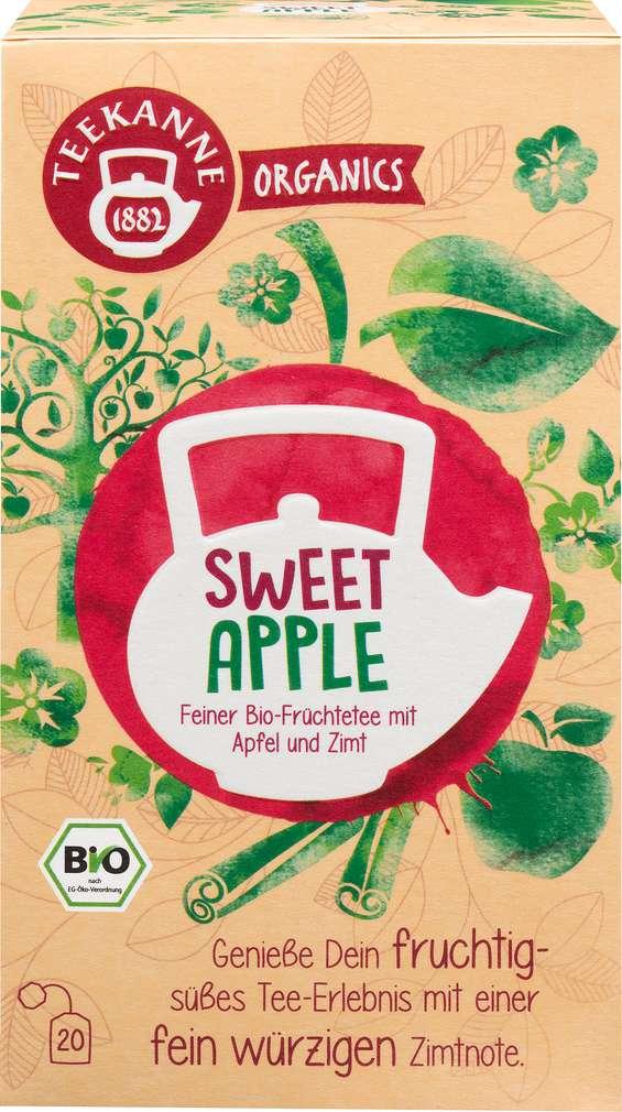 Abbildung des Sortimentsartikels Teekanne Bio Organics Sweet Apple 20x1,8g