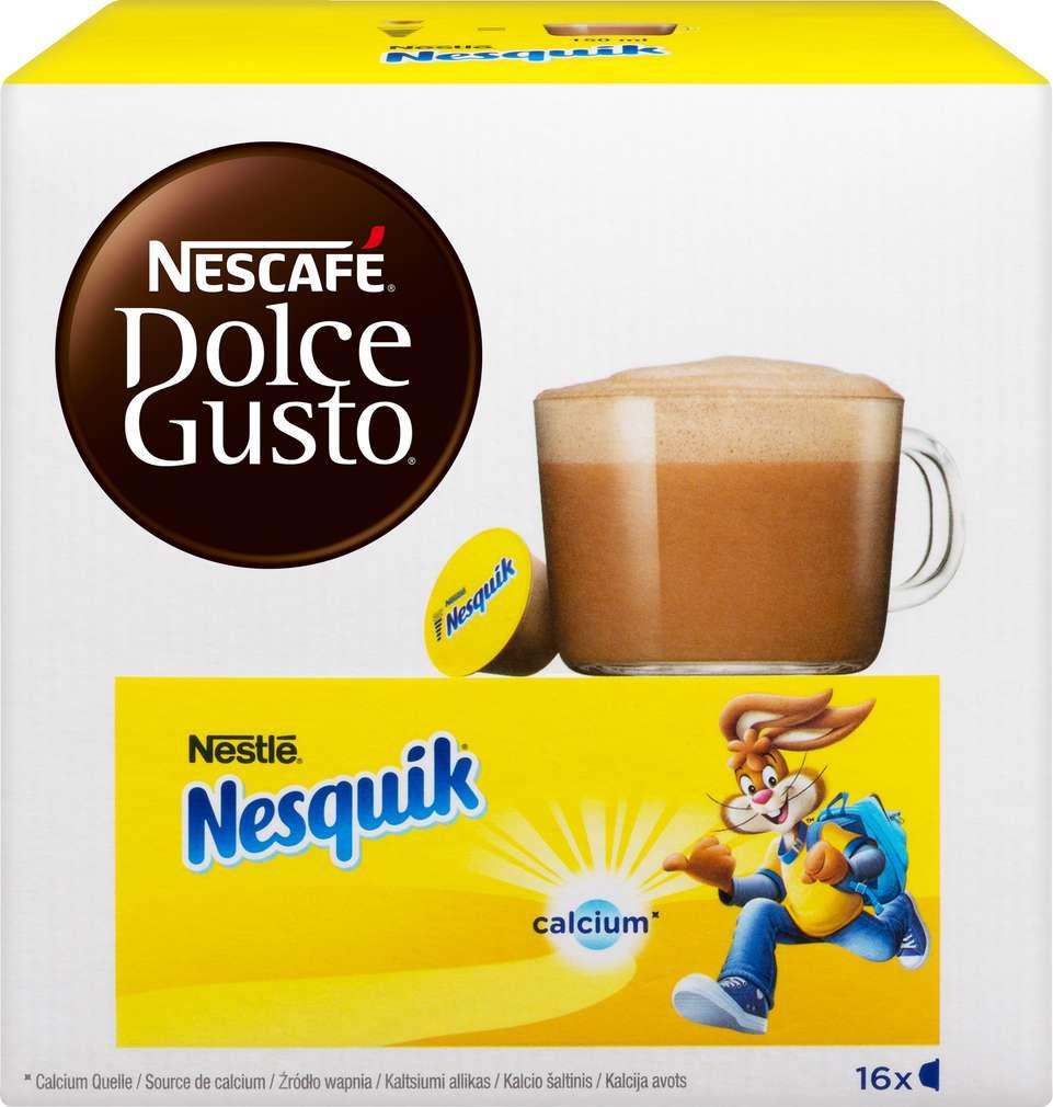 Abbildung des Sortimentsartikels Nescafé Dolce Gusto Kapseln Nesquik 256g, 16 Kapseln